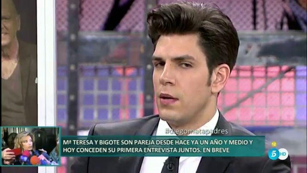 """Diego Matamoros: """"Mi padre os está tomando el pelo, quiere hacer negocio con su familia"""""""