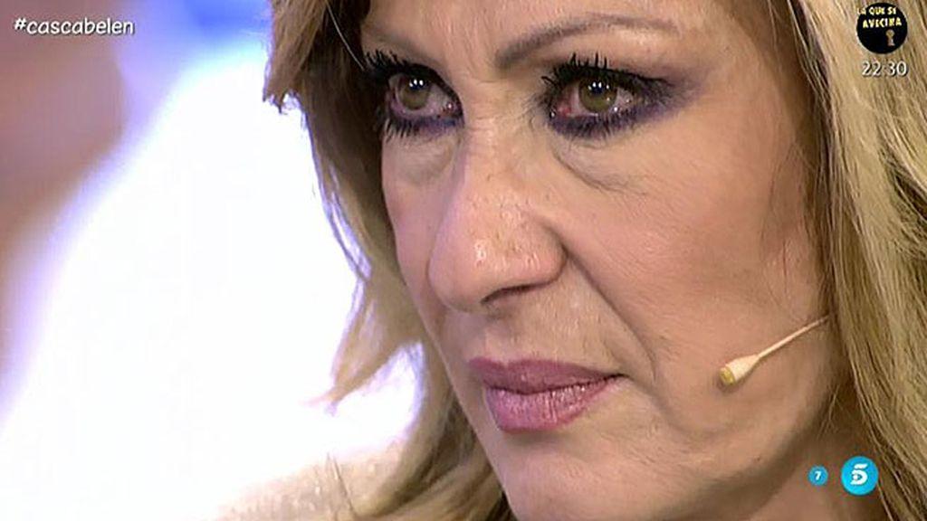 """Rosa Benito, de Belén: """"Ha habido tantas cosas buenas, que esto es una tontería"""""""