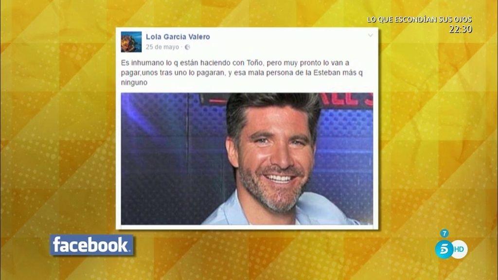 """""""Mentirosa"""", el adjetivo con el que la madre de Toño Sanchís arremete contra Belén"""