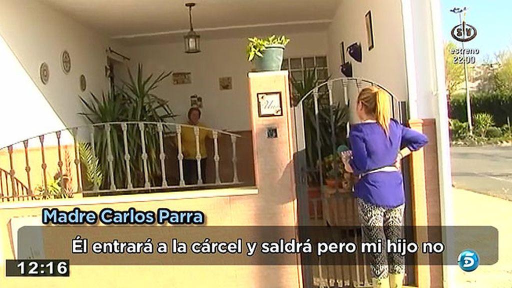 """La madre de Carlos Parra: """"Él entrará a la cárcel y saldrá pero mi hijo no"""""""