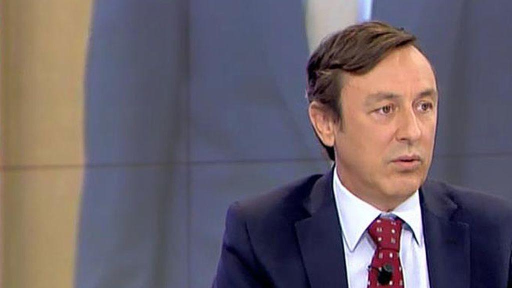"""Hernando: """"Tenemos una aritmética que obliga a que Sánchez sea decisivo"""""""