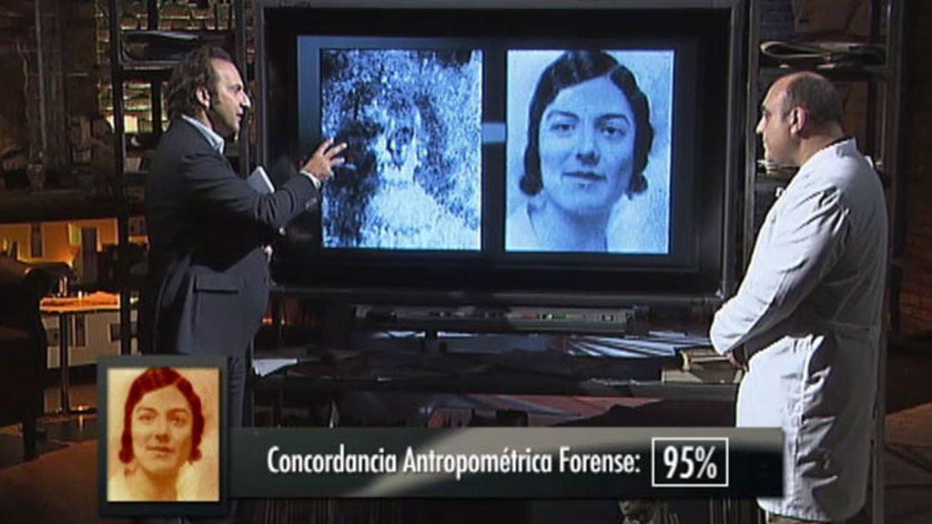 """Dr. Alamancos: """"Existe concordancia entre las caras y las fotografías de familia"""""""
