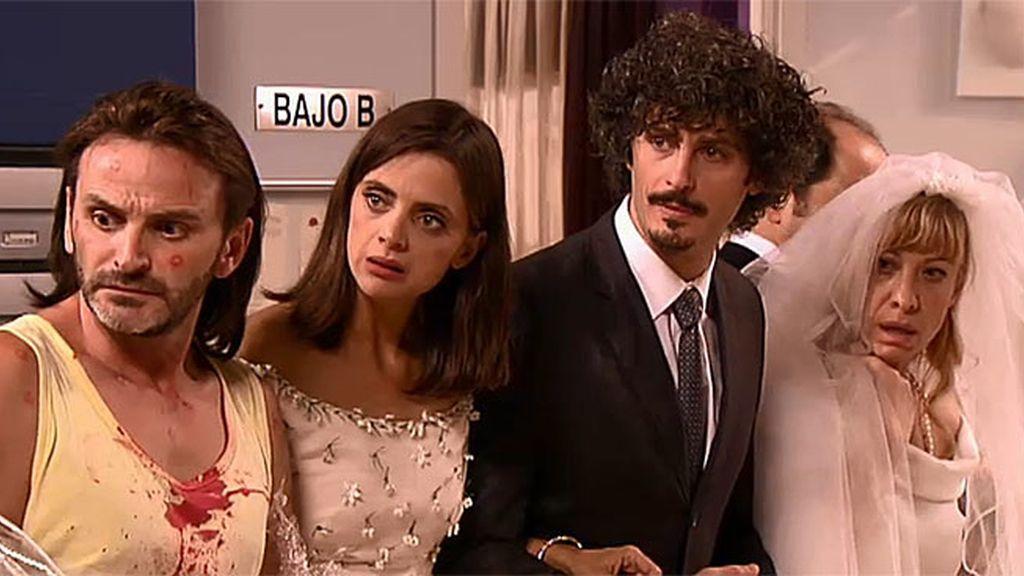 Los Recio, Javi, Lola, Nines y Coque quieren casarse antes de morir