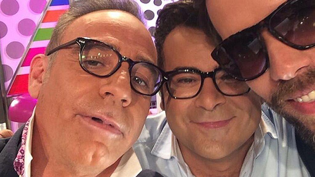 El selfie de J.J. y Joaquín Torres