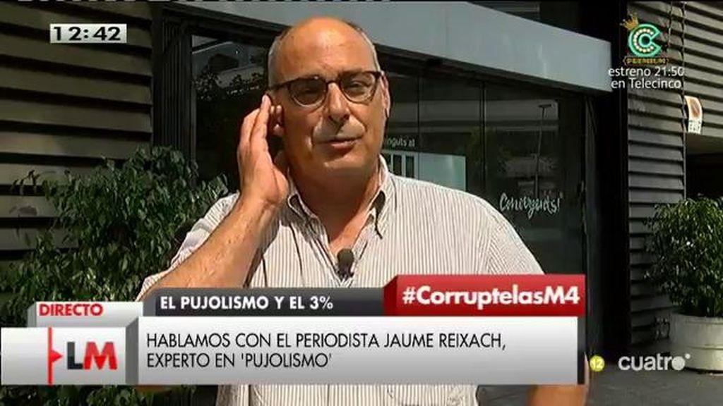 "Jaume Reixach: ""Esto no deja de ser la punta del iceberg"""