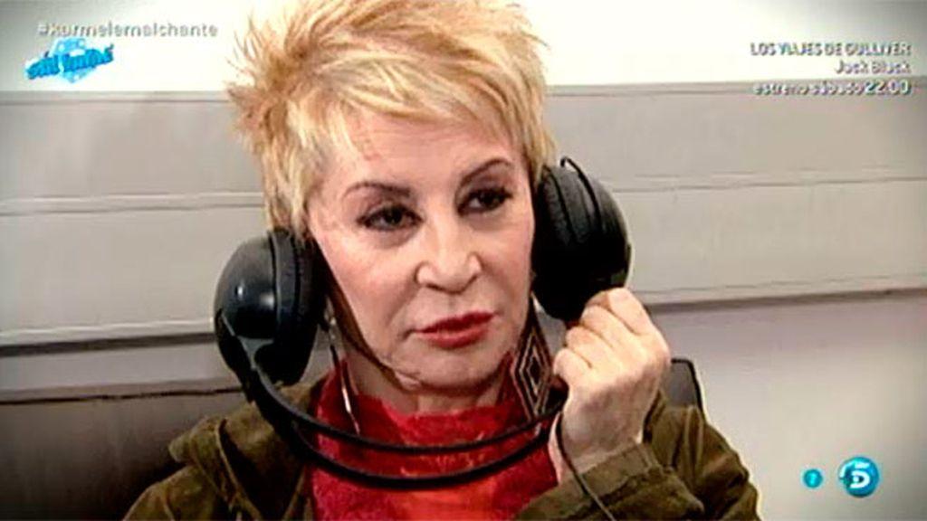 Karmele reacciona ante las declaraciones de Irene, la segunda mujer de Diego