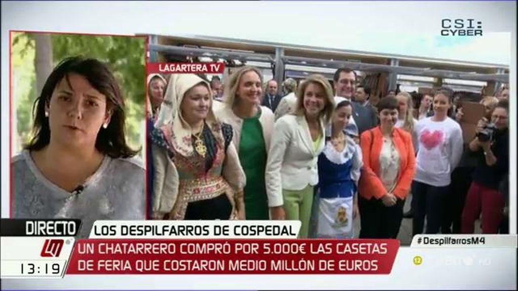 """Agustina García (PSOE): """"Estamos ante un nuevo ejemplo de despilfarro de Cospedal"""""""
