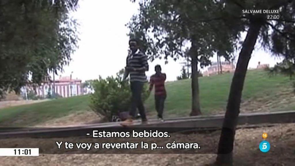 'El Pera' amenazado por algunos indigentes del parque Tierno Galván de Madrid