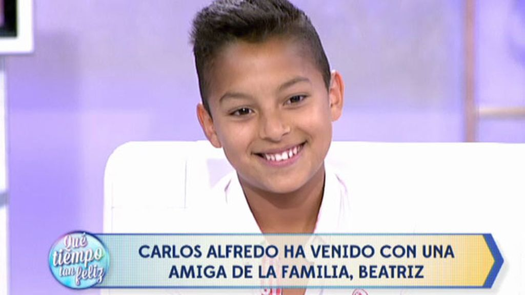 Carlos Alfredo se convierte en David Bisbal y canta 'Bulería', su canción preferida