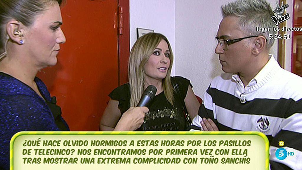 "Hormigos, a 'Sálvame': ""Nadie se atreve a llevarle la contraria a Belén Esteban"""