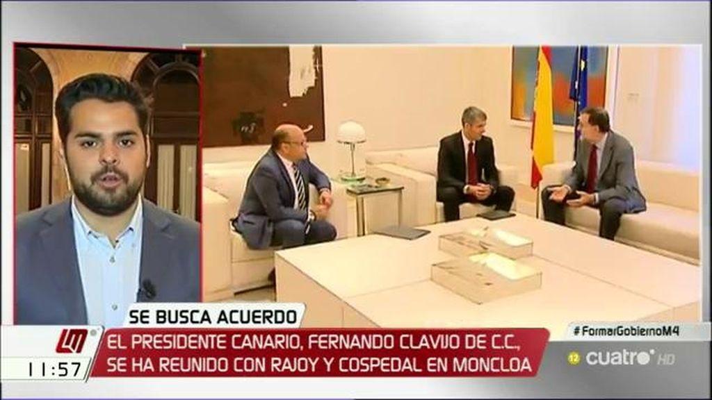 """Fernando de Páramo (C's): """"Rajoy no es mucho de llamarnos ni de coger el teléfono"""""""