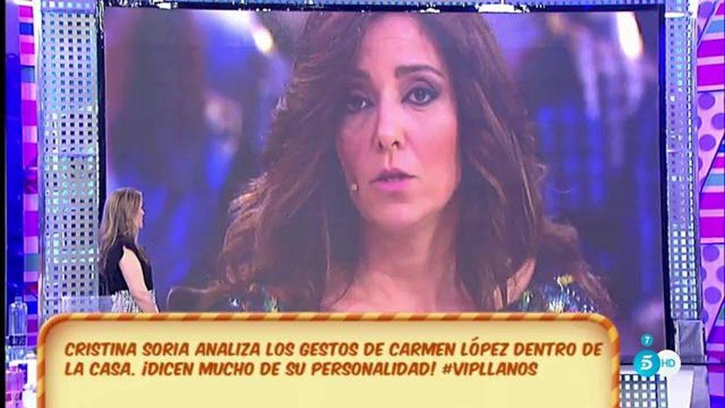 Las dos caras de Cármen López, según Cristina Soria