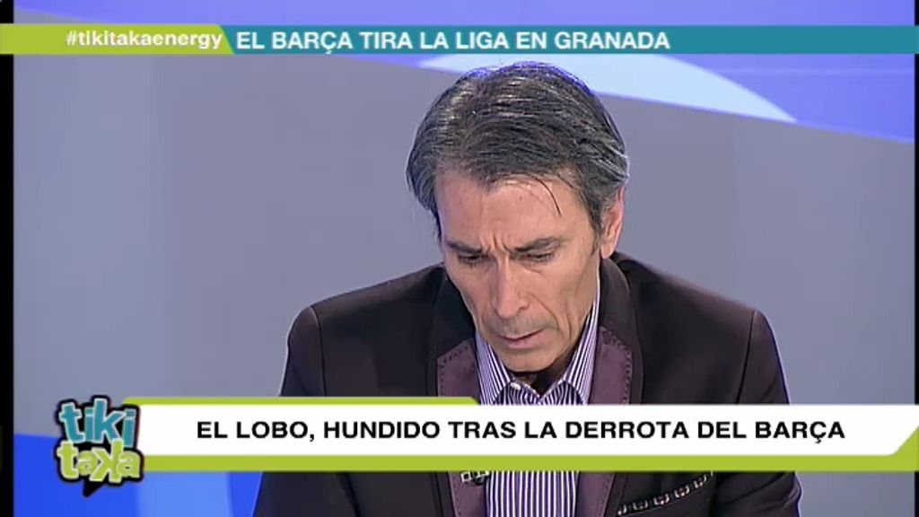"""Lobo Carrasco: """"Cuando los jugadores no lloran tras perder, hay que agitar el vestuario"""""""
