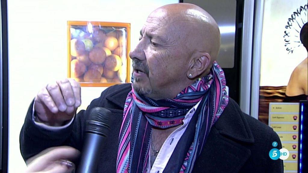 "El padre de Chenoa llega a España: ""No pienso encontrarme con Chenoa"""