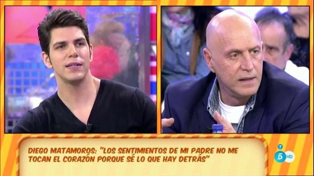 """Kiko Matamoros, a su hijo: """"No voy a entrar en peleas ni en disputas públicas"""""""