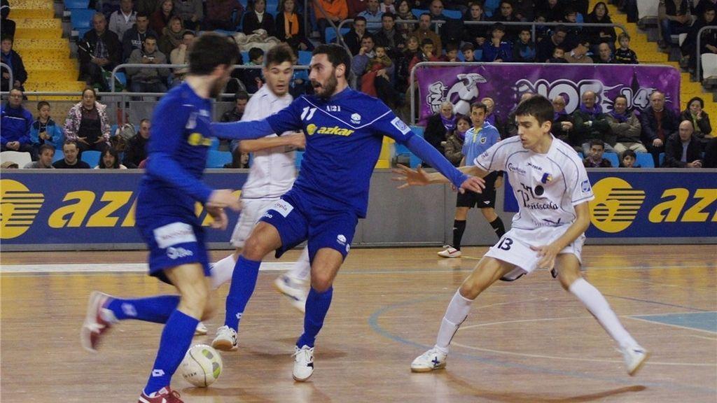 Azkar Lugo se impone al Peñíscola Bodegas Dunviro con un gol sobre la bocina (3-2)