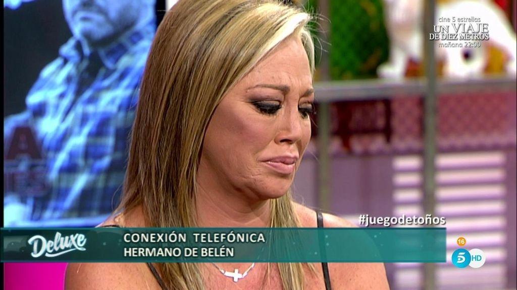 """El hermano de Belén, en el 'Deluxe': """"Quiero pedir perdón a mi hermana y a Miguel"""""""