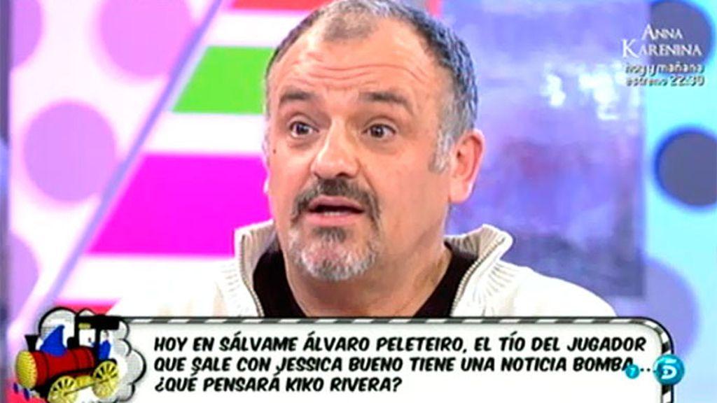 """Álvaro, tío del novio de Jessica Bueno: """"Mi hermano dice que va a ser abuelo"""""""