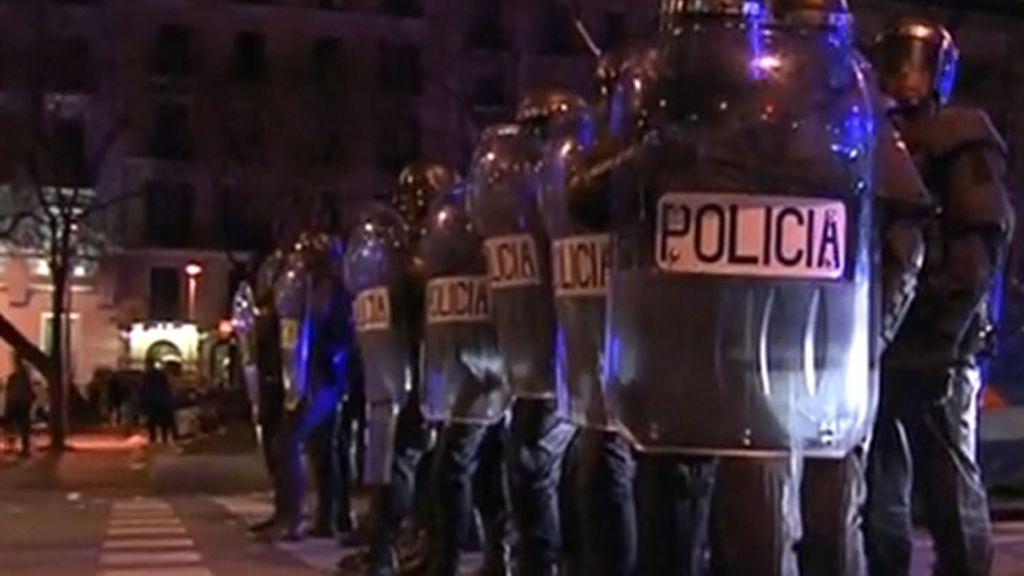 Violentos altercados en las marchas por la diginidad