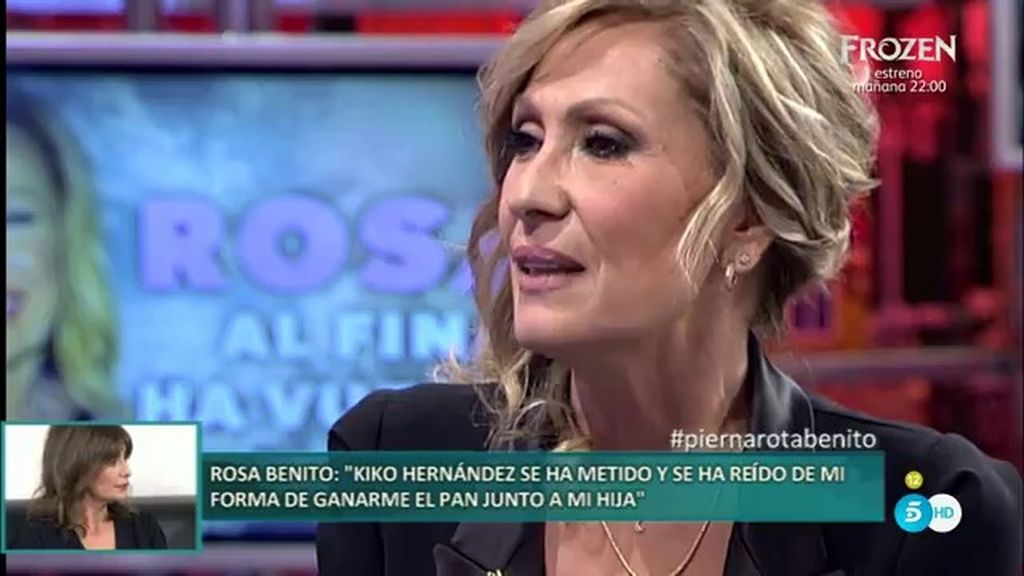 """Rosa Benito: """"Hay una mano negra que nos ha quitado el trabajo a mí y a mi hija"""""""