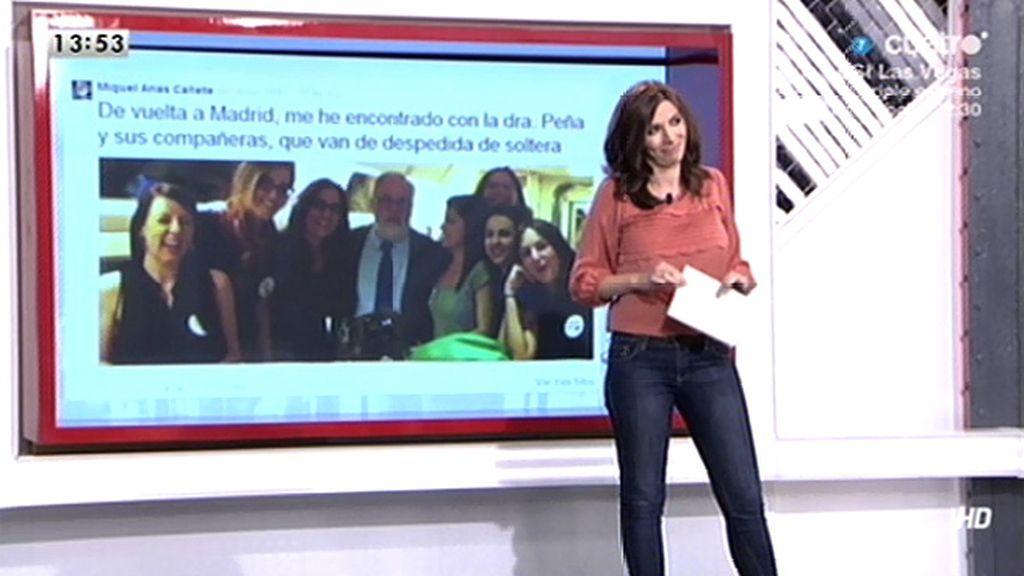 """Una de las chicas que se fotografió con Cañete: """"Menos fotitos y más renovar ideas"""""""