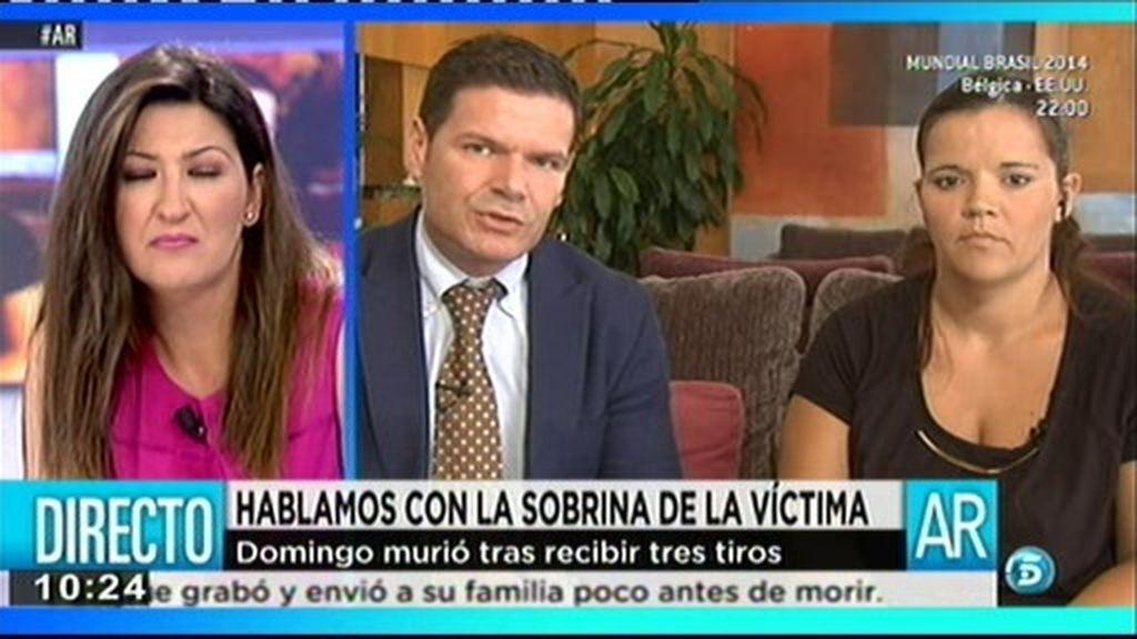 """Manuel Huertas, abogado de Domingo: """"Todavía no han interrogado a su exmujer"""""""