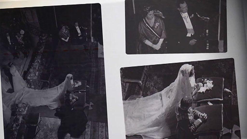 Las fotos censuradas de la boda ortodoxa de Juan Carlos y Sofía en Atenas