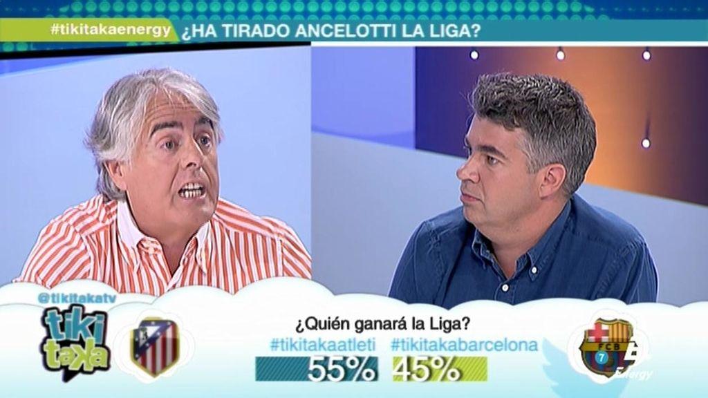 """Pulido: """"Ancelotti no ha sabido mantener el espíritu competitivo del Madrid en la Liga"""""""
