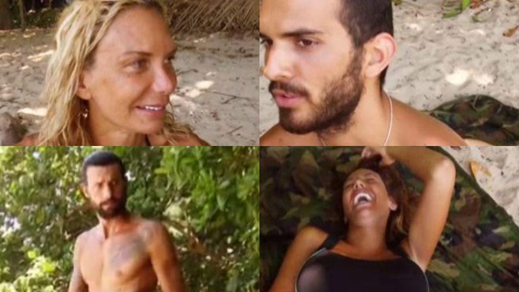 """La duda de Steisy: """"¿Tú crees que habrá alguien que se haya masturbado en la isla?"""""""