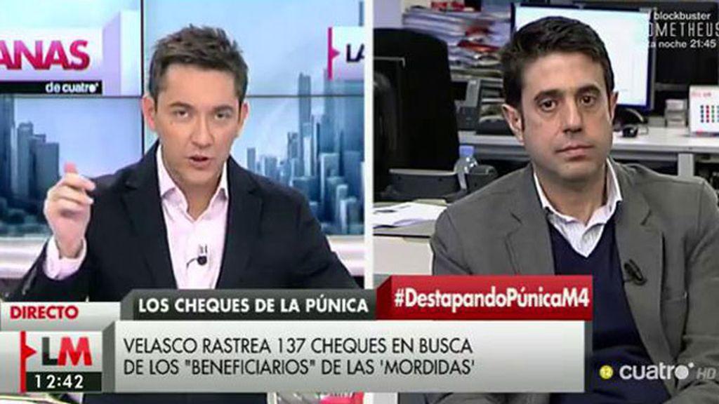 """Miguel Alba , de 'Vozpópuli': """"Si Cifuentes quiere lanzar un mensaje de limpieza, tiene que tomar decisiones drásticas"""""""