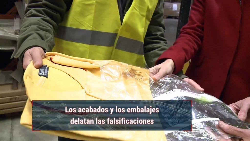 Un alto porcentaje de falsificaciones entran en España por el puerto de Valencia