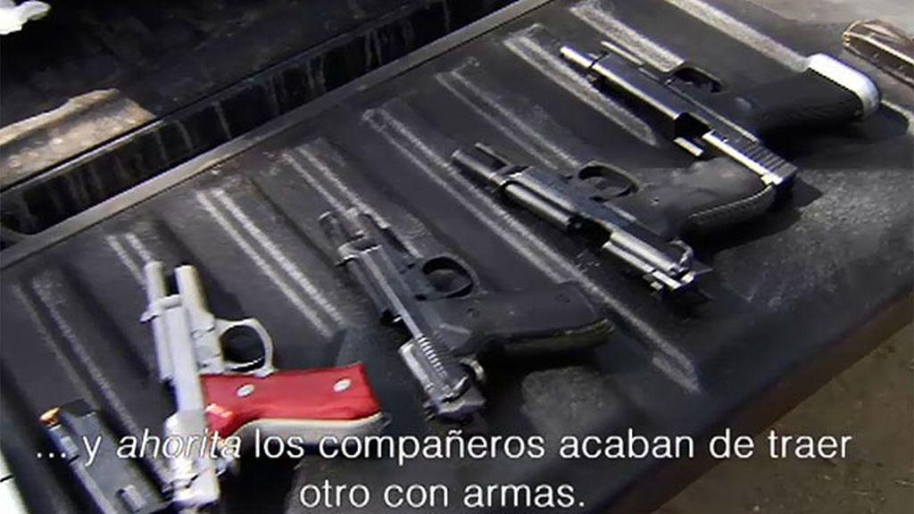 """Cabo Vadillo: """"La cultura que hay en este país por el arma es sorprendente"""""""