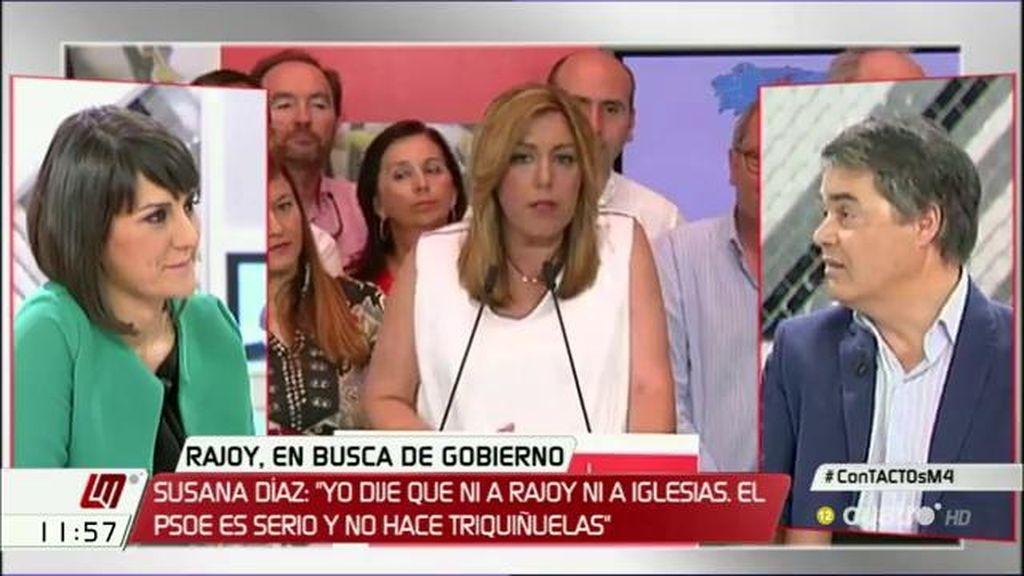 """Carlos Rojas (PP): """"La señora Díaz debería reflexionar y no dar lecciones"""""""