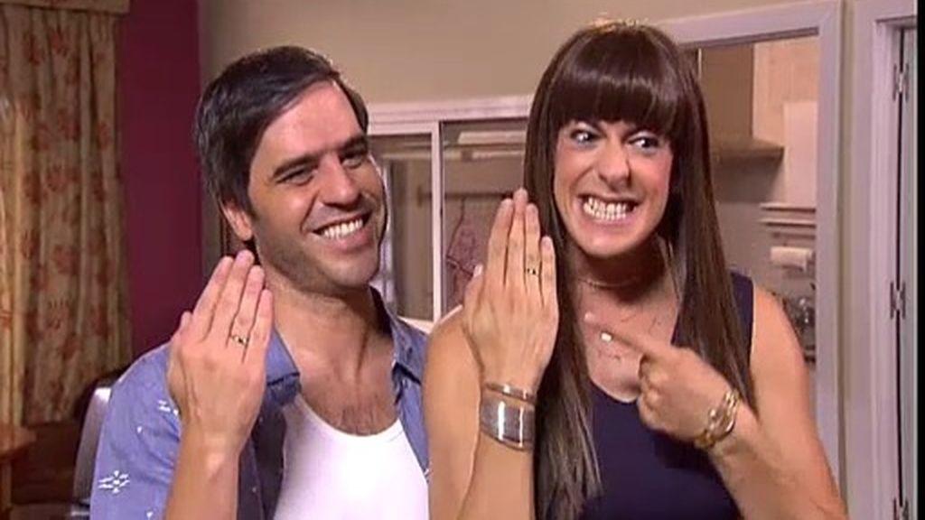 ¡Teodoro y Alba ya son marido y mujer!... para disgusto de Antonio