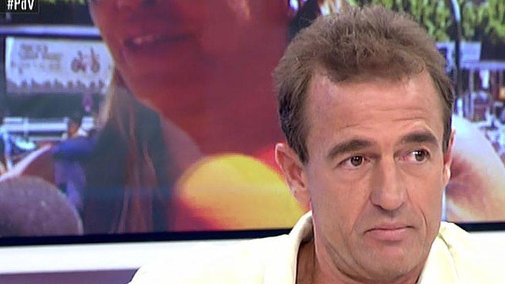 """Alessandro Lequio: """"Si Belén no quiere que se hable de su hija que no polemice con ella"""""""