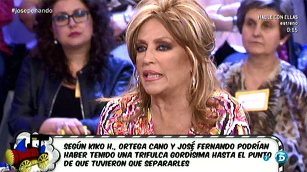 Lydia ha hablado con Pepe el Marismeño, que niega el altercado de José Fernando