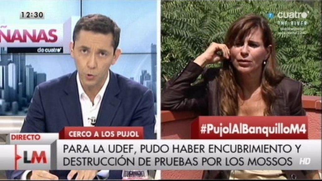 """Victoria Álvarez: """"Estoy segura de que hubo obstrucción por parte de los Mossos"""""""