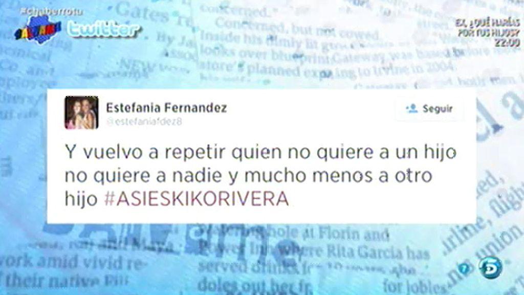 """Estefanía, ex de Alberto Isla: """"Quien no quiere a un hijo no quiere a nadie"""""""