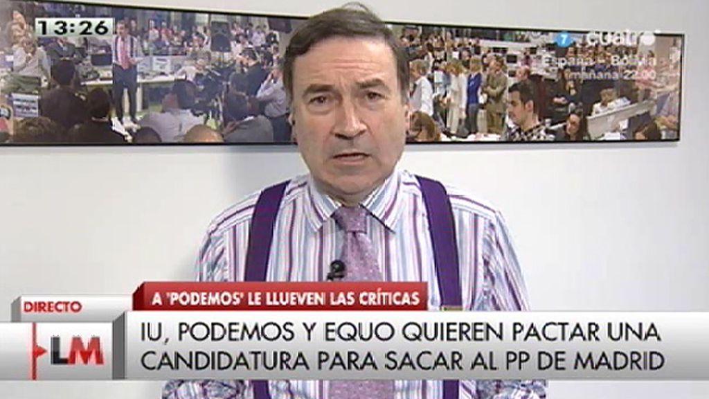 """Pedro J. Ramírez: """"La ciudadanía le ha sacado tarjeta amarilla a la clase política"""""""