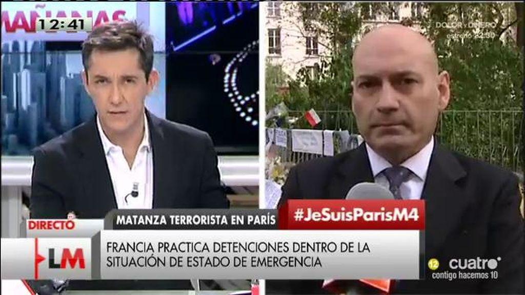 """Javier Gómez Bermúdez, juez: """"Hollande ha declarado el Estado de Urgencia, una medida regulada por la Constitución francesa"""""""