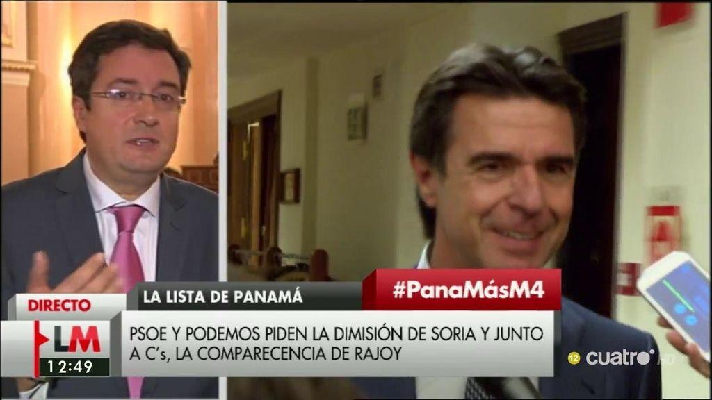 """Óscar López, sobre Soria: """"Es absolutamente imposible seguir en la tarea pública ni un solo minuto teniendo el dinero propio fuera"""""""