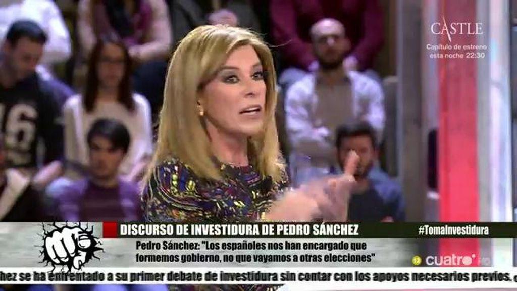 """Esther Palomera: """"Hay un déficit de credibilidad en Pedro Sánchez"""""""