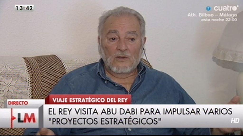 La entrevista a Julio Anguita, online