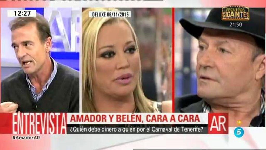 Belén y Amador: ¿Quién debe dinero a quién por el Carnaval de Tenerife?