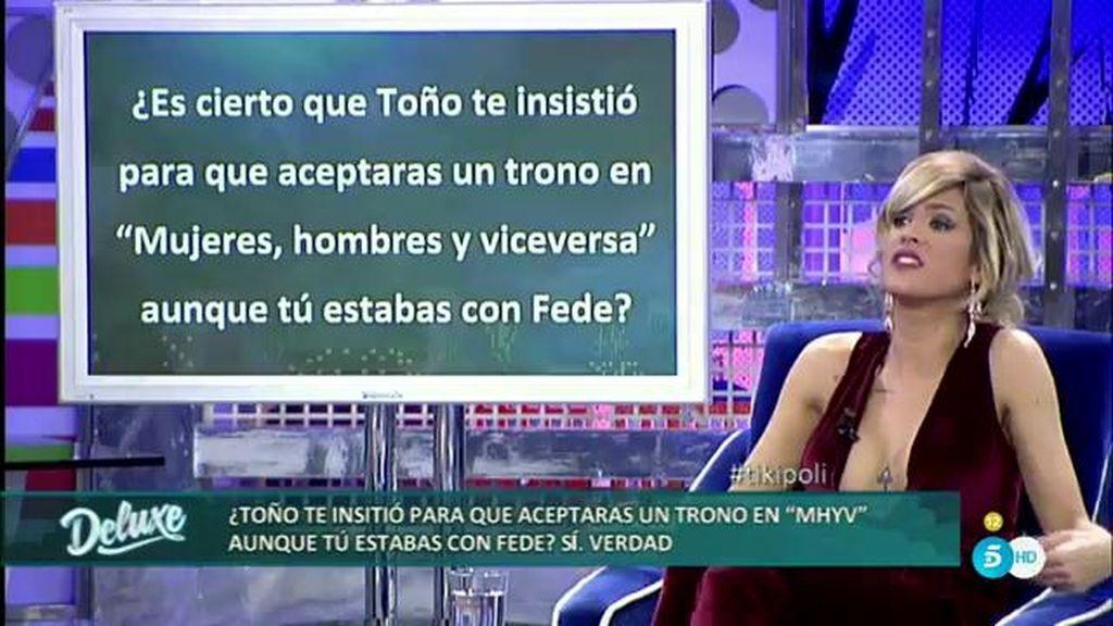 El Polideluxe aclara los compromisos laborales entre Ylenia y Toño Sanchís