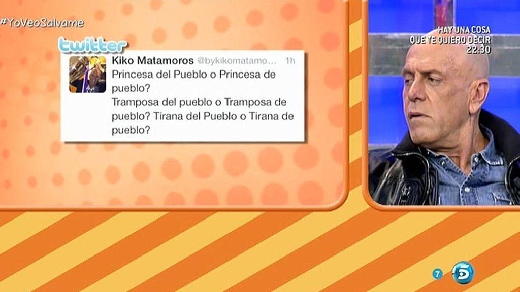 """Kiko Matamoros: """"¿Princesa del pueblo o princesa de pueblo?"""""""