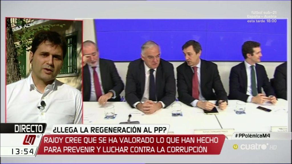 """Ignacio Jurado: """"El PP ya mira a la corrupción por el espejo retrovisor"""""""