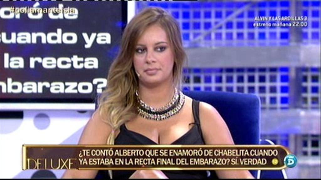 Según el polígrafo, Alberto Isla se enamoró de Chabelita en la recta final del embarazo