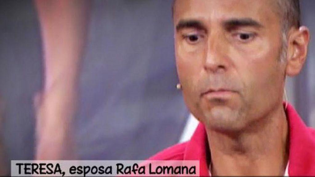 """Teresa, mujer de Rafa Lomana: """"Yo quiero pensar que algún día todo esto terminará"""""""