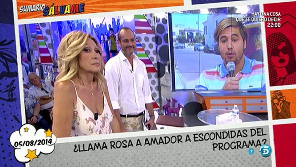 """A. García: """"Lo que más molestó a Amador es que Rosa diga que le ha quitado dinero"""""""